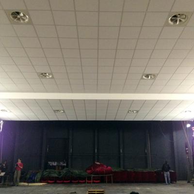 Rooftop con canalizzazione - Teatro IPM Beccaria (MI)