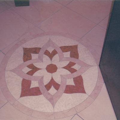 Rosone pavimento entrata