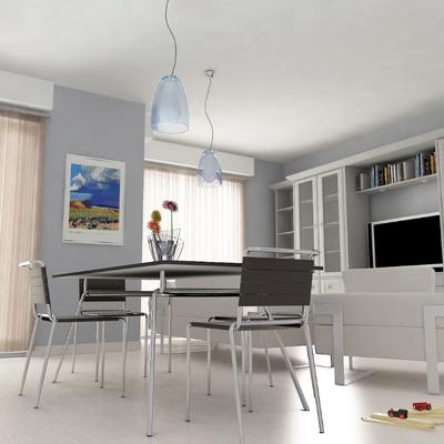 Salone bianco classico 01