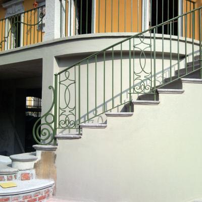 Scala. muro. balcone