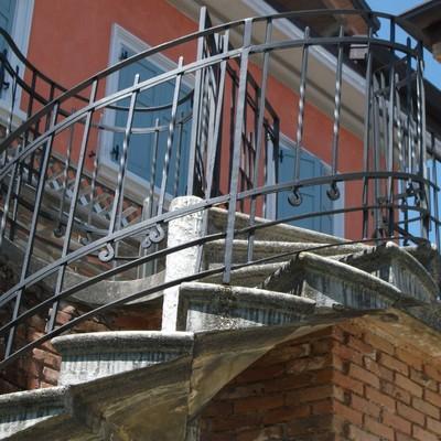 scala per ingresso appartamento