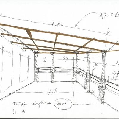 Progetto copertura terrazzo