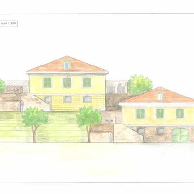 Progetto nuovi edifici residenziali in Comune di Busalla