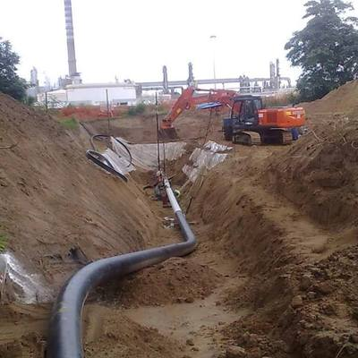 scavo x gasdotto