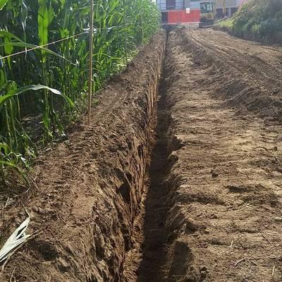 scavi recinzione
