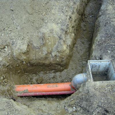 scavo per tombino