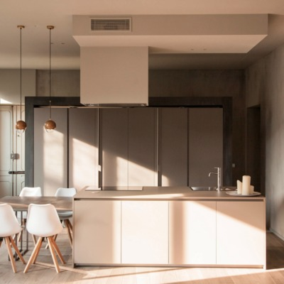 Design minimal in cucina