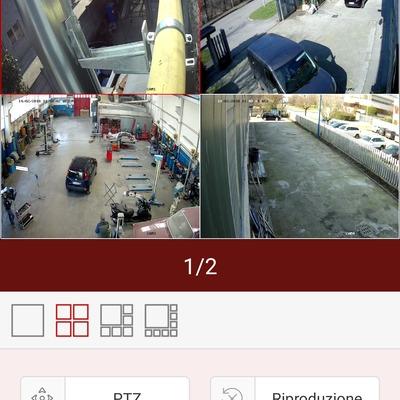Video sorveglianza IP cam 4Megapixel