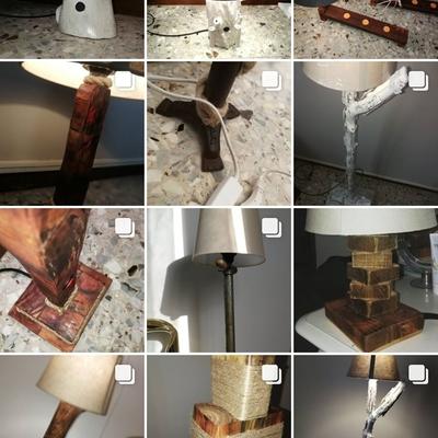 Lampade di design realizzate a mano su richiesta
