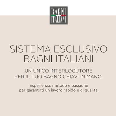 SISTEMA ESCLUSIVO BAGNI ITALIANI