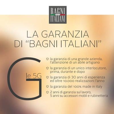 """LA GARANZIA DI """"BAGNI ITALIANI"""""""