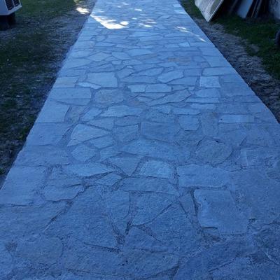 Pavimentazione  in pietra località polverara