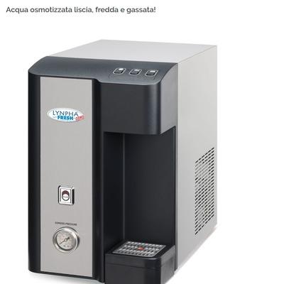 Refrigeratore d'acqua con osmosi inversa integrata