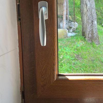 serramento pvc effetto legno