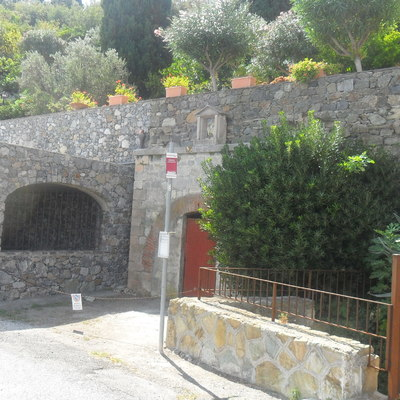 vialetto di accesso