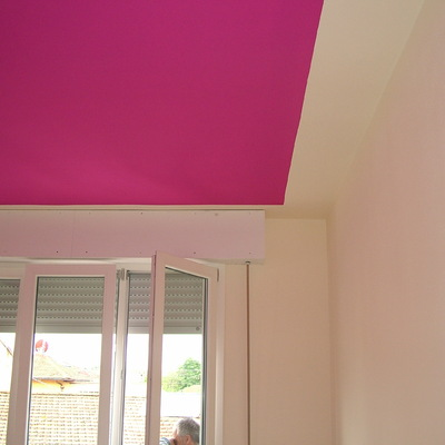 soffitto color lilla