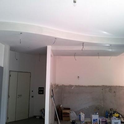 soffitto lavorato curvo