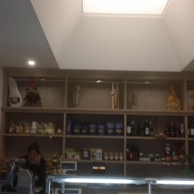 soffitto teso Barrisol gastronomia -Avellino