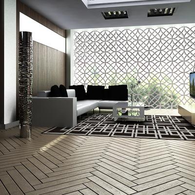Progetto soggiorno appartamento Dubai