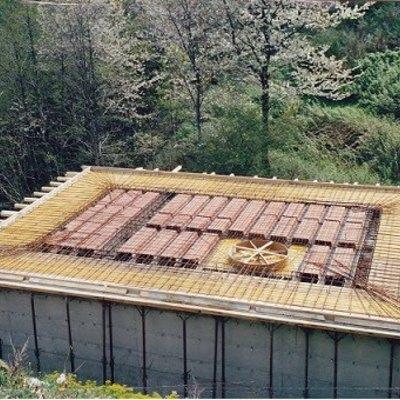 Solaio in laterocemento con terrazzo perimetrale in c.a (Careggine)