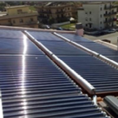 Impianto di solar cooling
