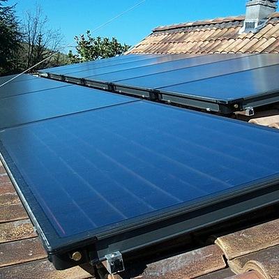 Solare termico per piscina
