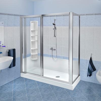 Trasformazione vasca in doccia Standard con colonna