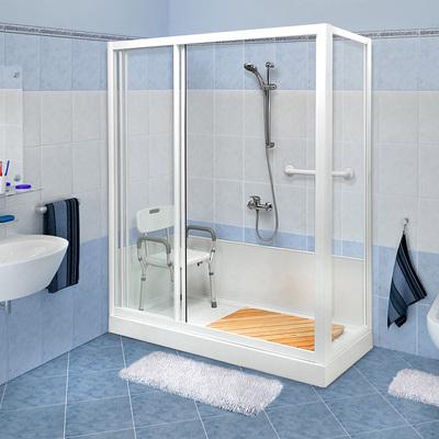 Trasformazione vasca in doccia Standard colore bianco con accessori