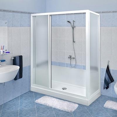 Trasformazione vasca in doccia Standard in colore bianco