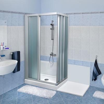 trasformazione vasca in doccia con spazio per elettrodomestico Remail