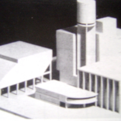 studio intervento di architettura moderna