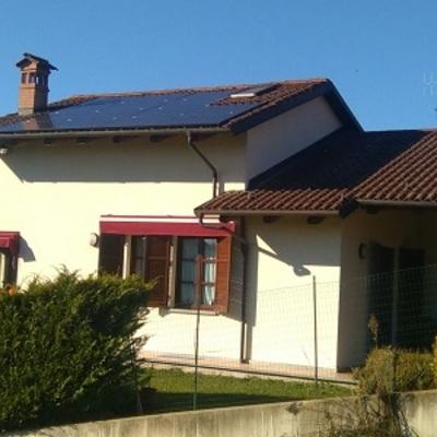 Impianto fotovoltaico SUNPOWER Black integrato
