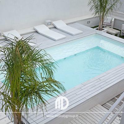 swimming pool white design