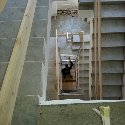 Taglio delle scale