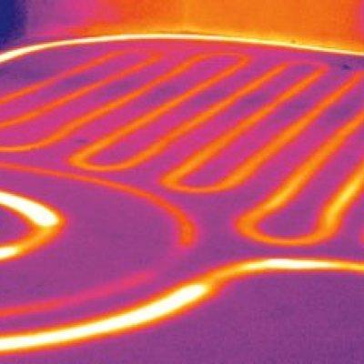 termografia e impianto radiante