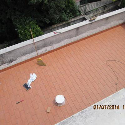terrazzo primo piano dopo