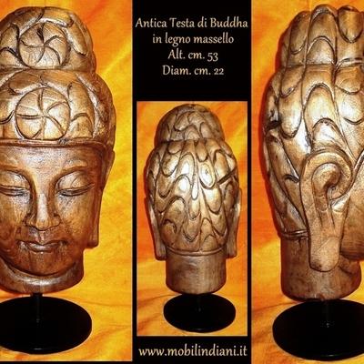 TESTA BUDDHA ORIENTALE
