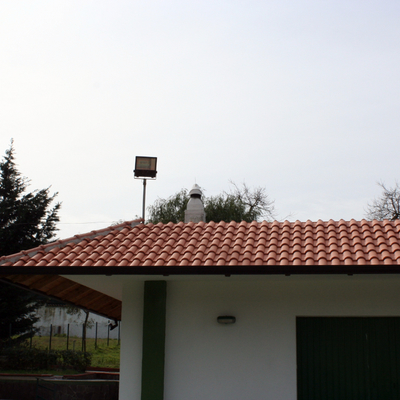 tettoia con tegole 1