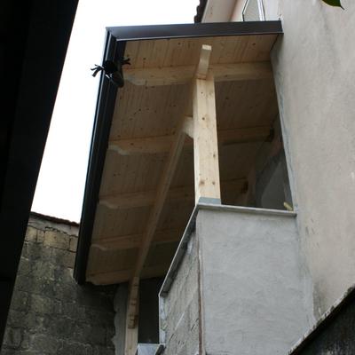 tettoia in legno 1