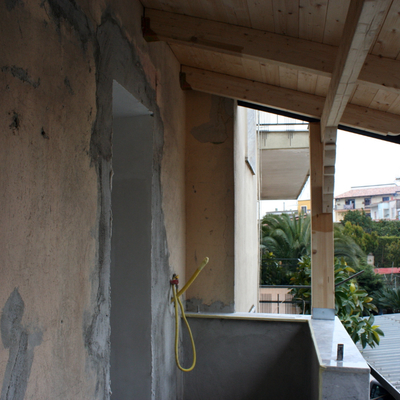 tettoia in legno 2