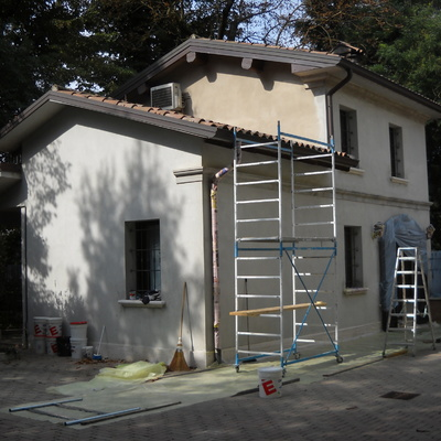 Tinteggio casa singola