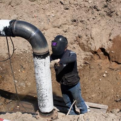 Tubazione acqua e reti gas