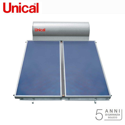 Pannelli solare termico per produzione acqua calda sanitaria Unical