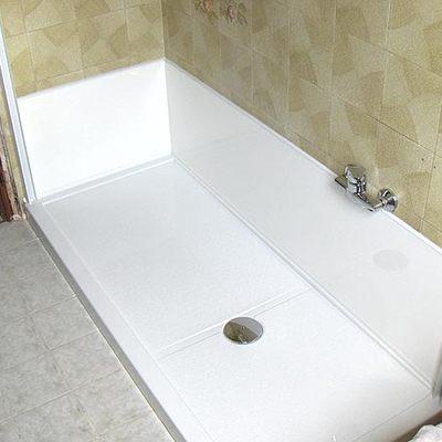 rimozione vasca installazione doccia step 3