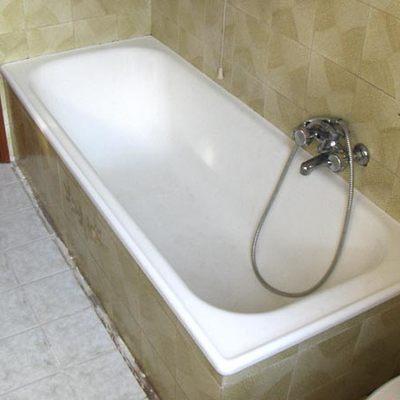 rimozione vasca installazione doccia step 1
