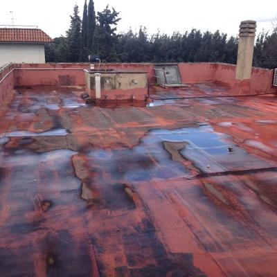 Vecchio manto impermeabile piste italiane san sebastiano al vesuvio