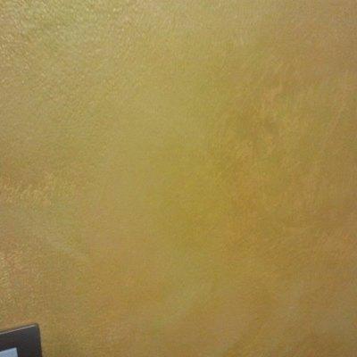 velatura metallizata colore oro