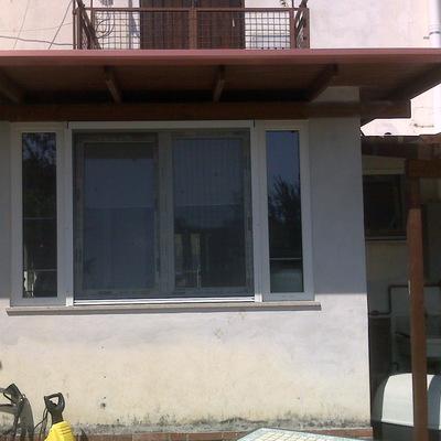 Veranda in PVC - Gorizia