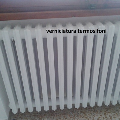 verniciatura radiatori