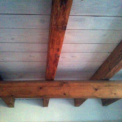 verniciatura su legno nuovo